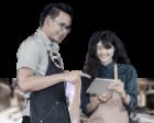 Đào tạo bài bản nhân viên từ pha chế đến quản lý, phục vụ